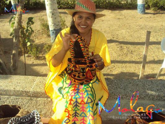 Mochila Wayuu handgemacht in Kolumbien