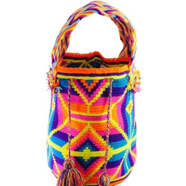 Mochila Wayuu Tasche - Multicolor