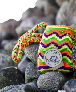 Wayuu Mochila Taschen - Traditional Mini Bag