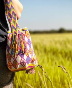 Wayuu Mochila Taschen - Traditional Multicolor